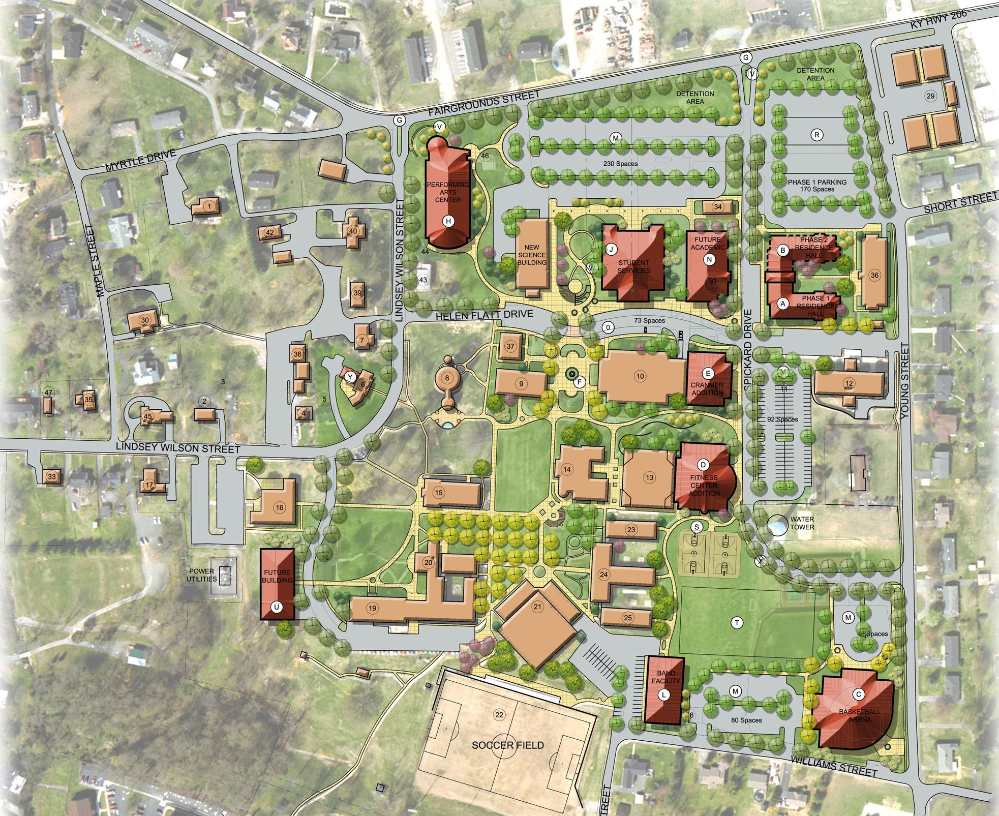 Lindsey Wilson College Master Plan