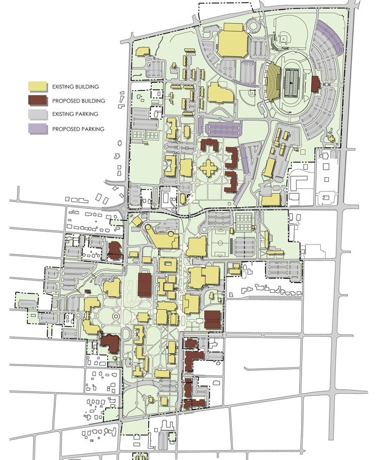 murray state university campus map Murray State University Master Plan Element Design murray state university campus map