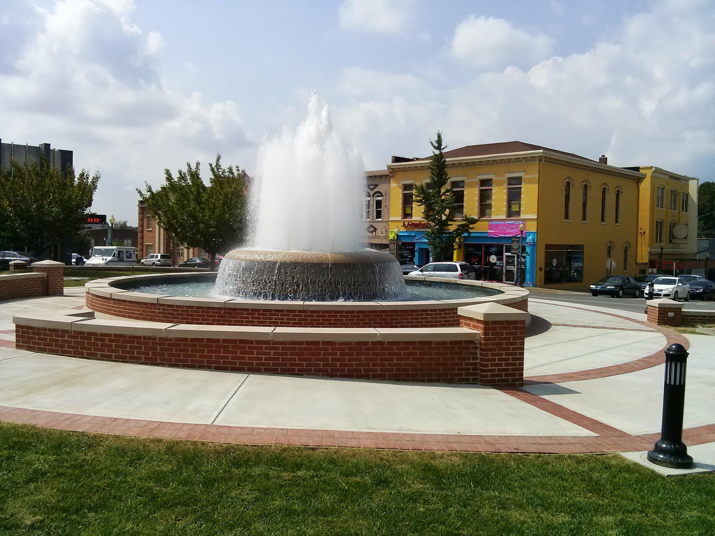 Pulaski County Fountain Square Beautification