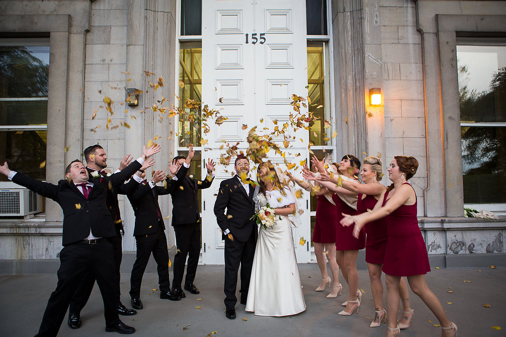 Montreal Fall Wedding- Canadian Russian Wedding