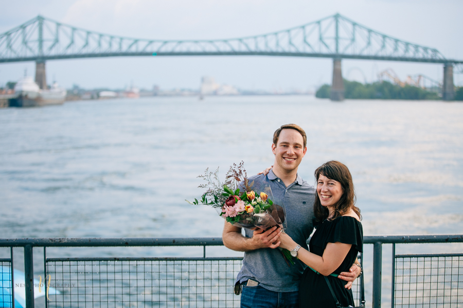 Surprise proposal in montreal old port clock tower by ness photography montreal wedding photographer 3.jpg