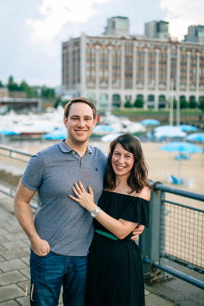 Surprise proposal in montreal old port clock tower by ness photography montreal wedding photographer 4.jpg