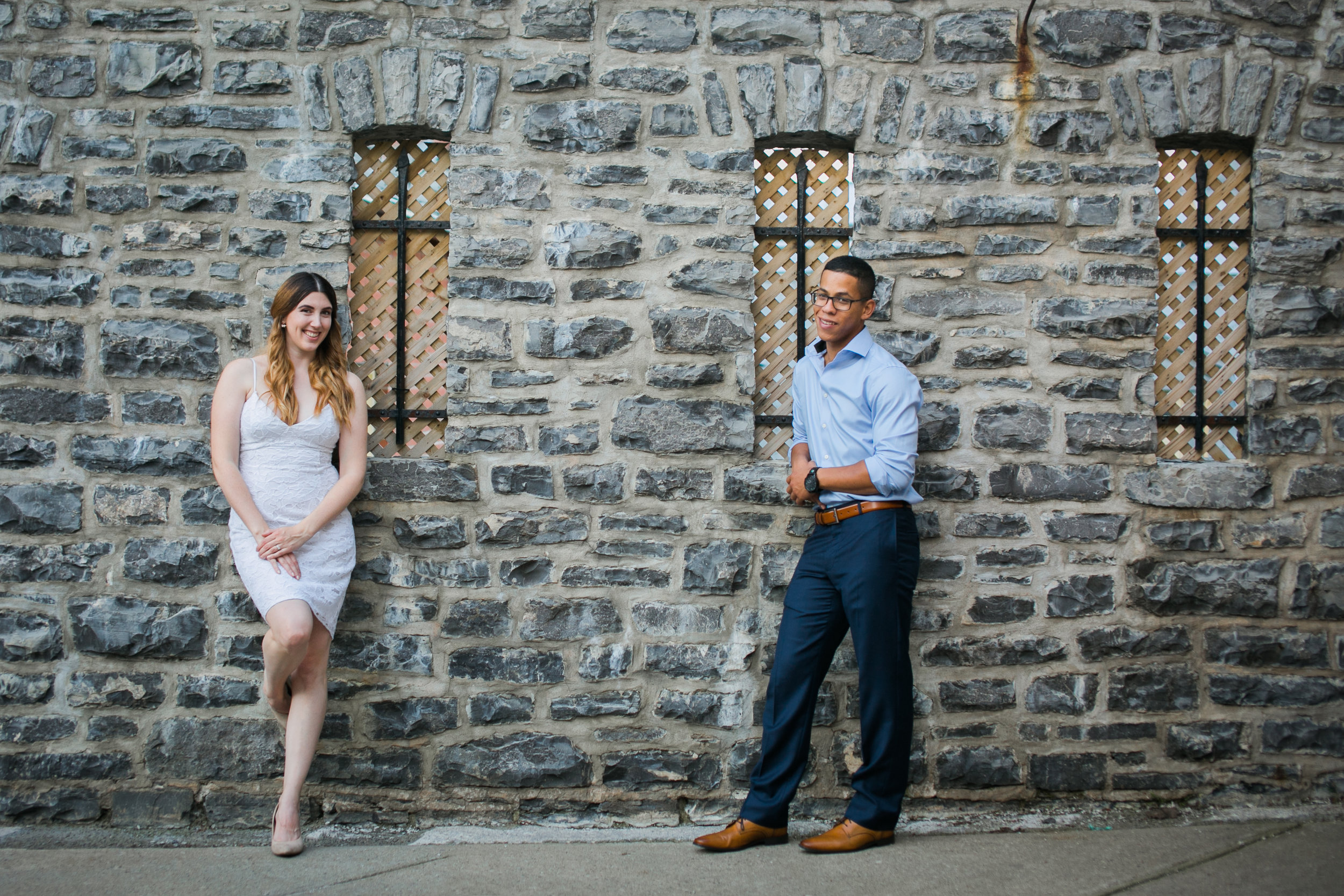 Vieux Old quebec engagement photos at sunset by Ness Photography.jpg