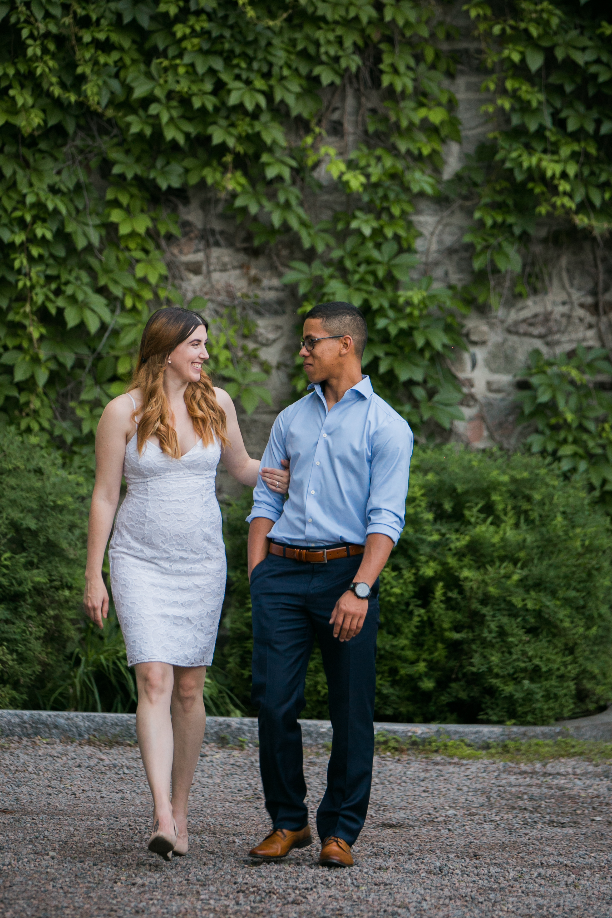 Vieux Old quebec engagement photos at sunset by Ness Photography.10.jpg