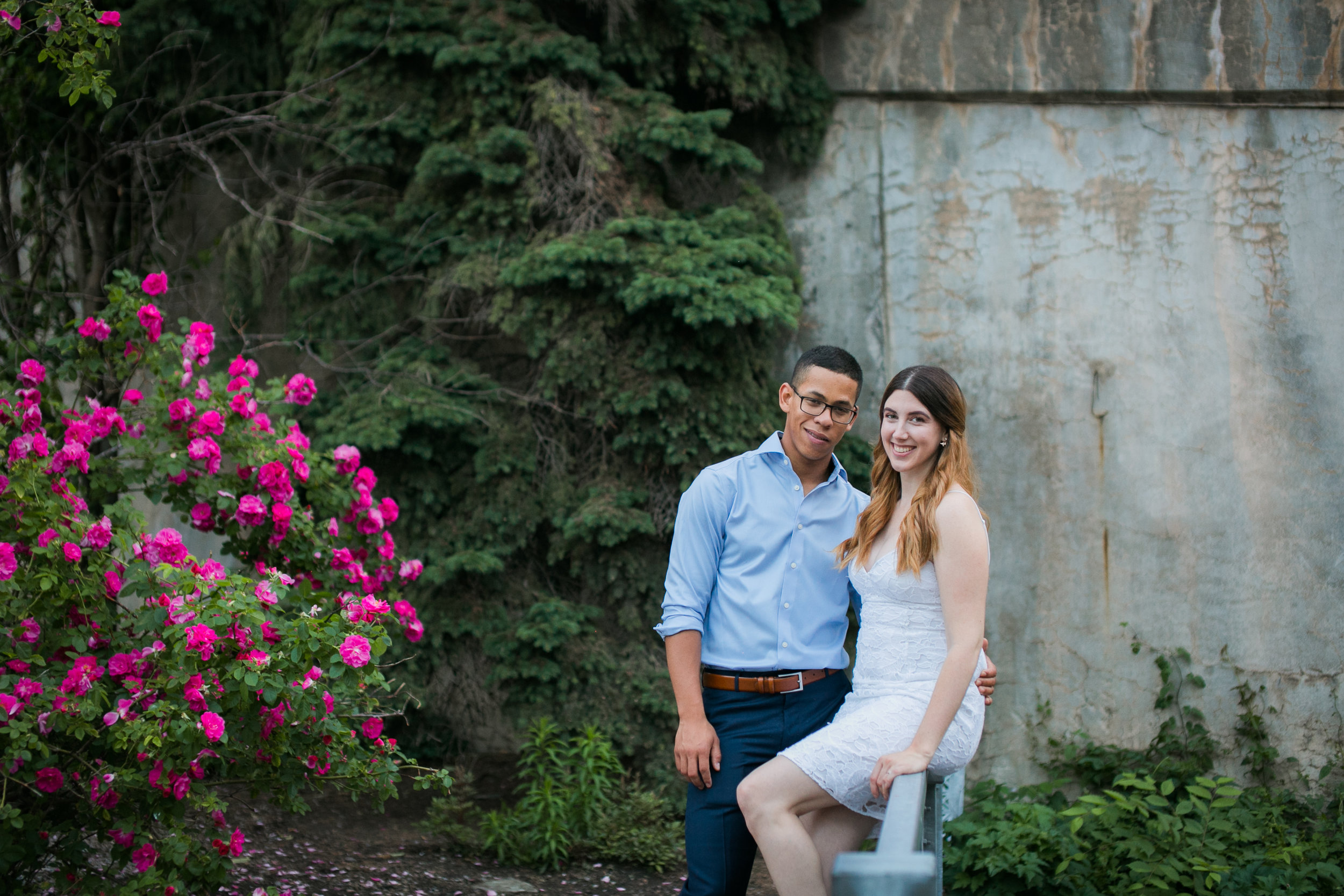 Vieux Old quebec engagement photos at sunset by Ness Photography.13.jpg