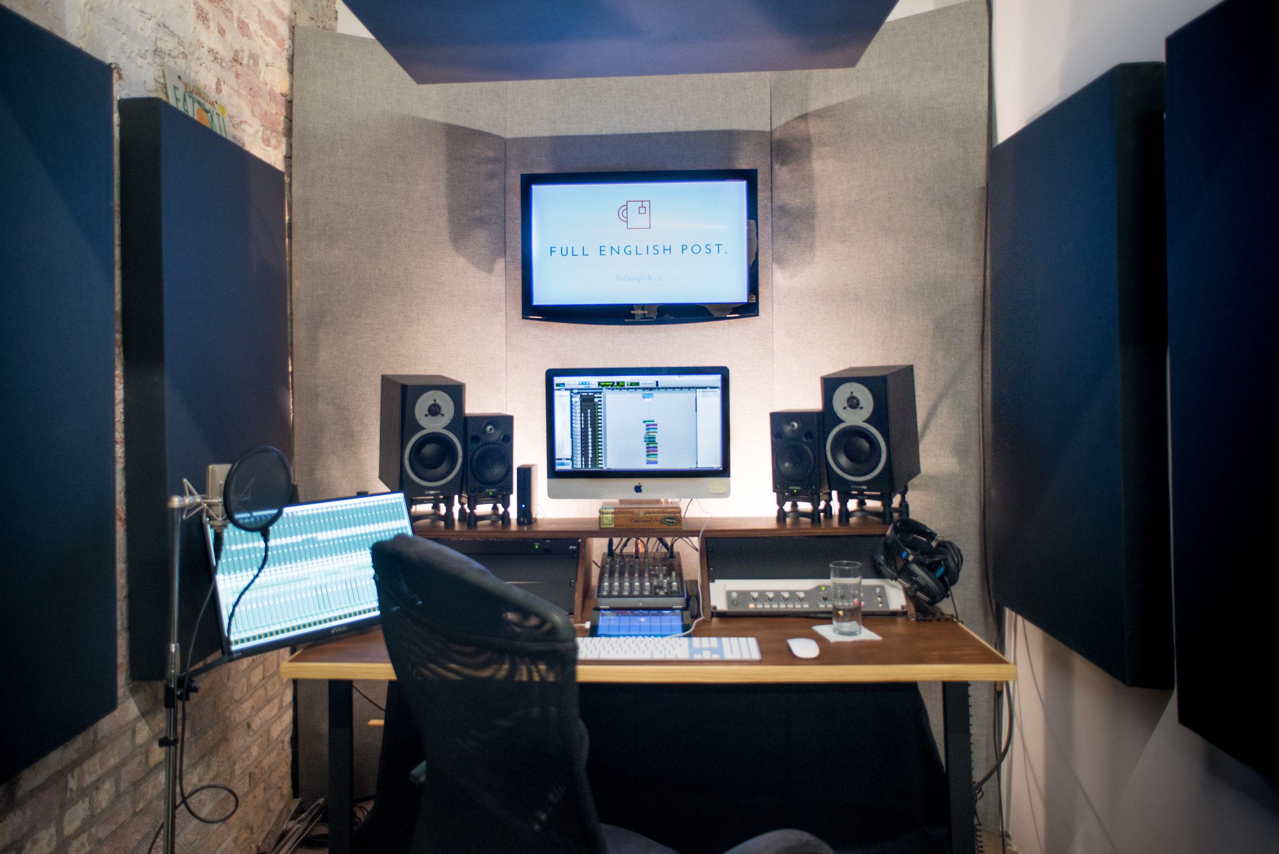 The previous studio...
