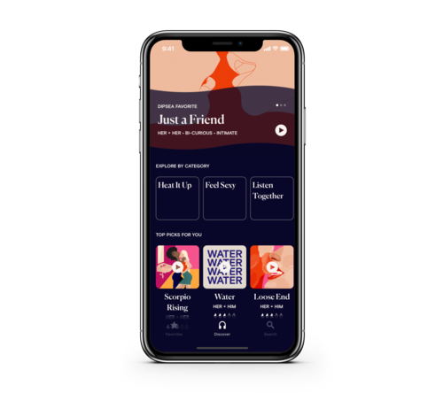 4ad9c235d8e Women-focussed sex stories app Dipsea partners with Full English ...