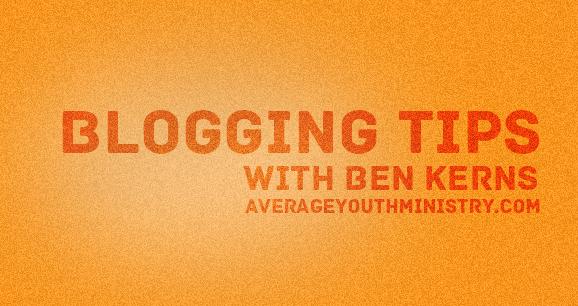 bloggingtipsbenkerns