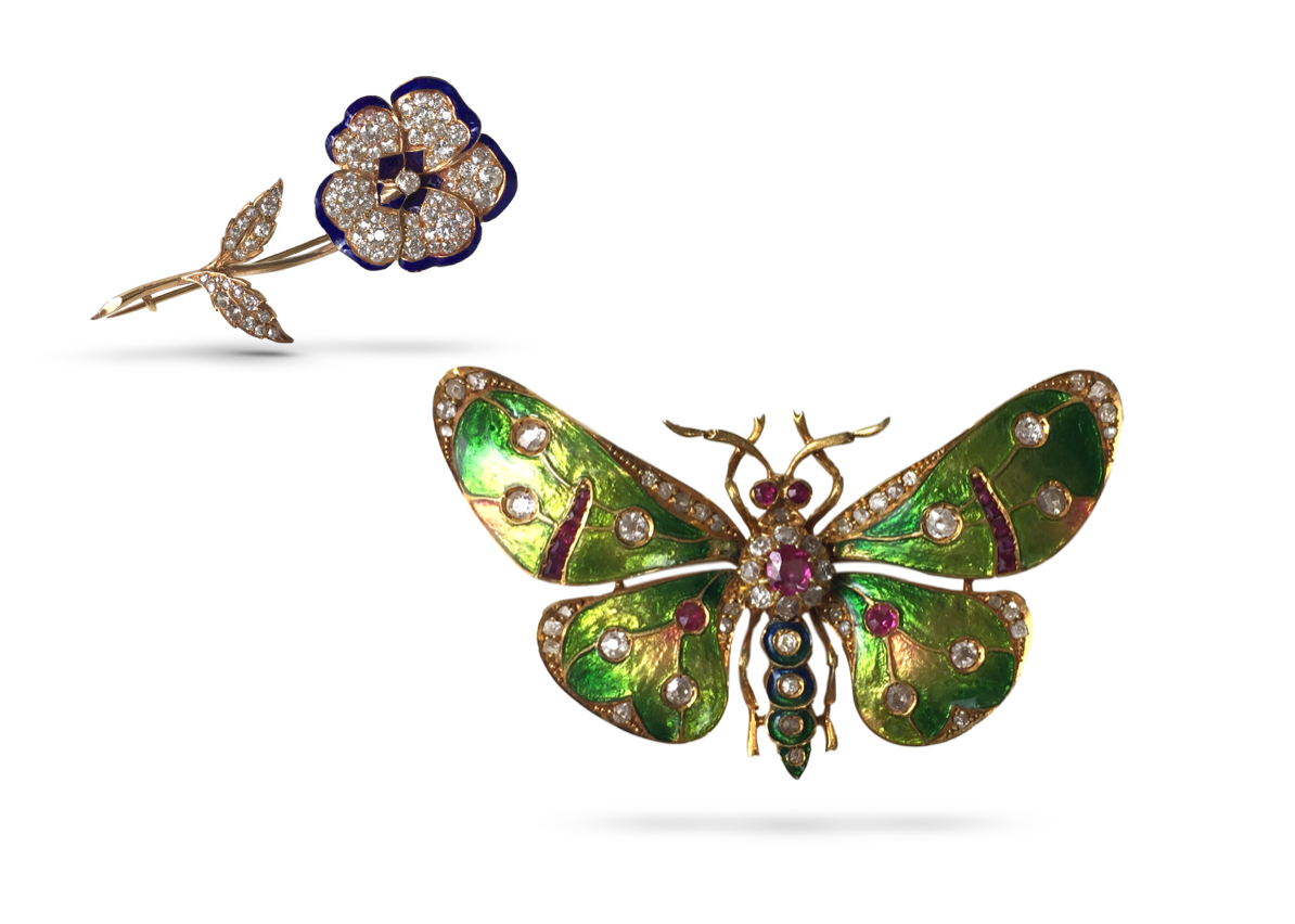 Butterfly and Pansy brooch.png