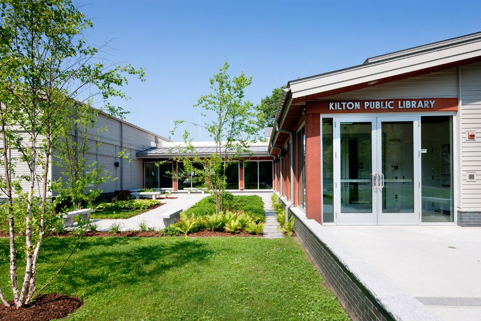 Kilton Library is open Monday - Thursday from 10:00 a.m - 8:00 p.m, and Friday - Saturday from 10:00 a.m. - 5:00 p.m.