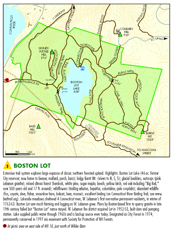 The Boston Lot, from Lebanon Conservation Commission
