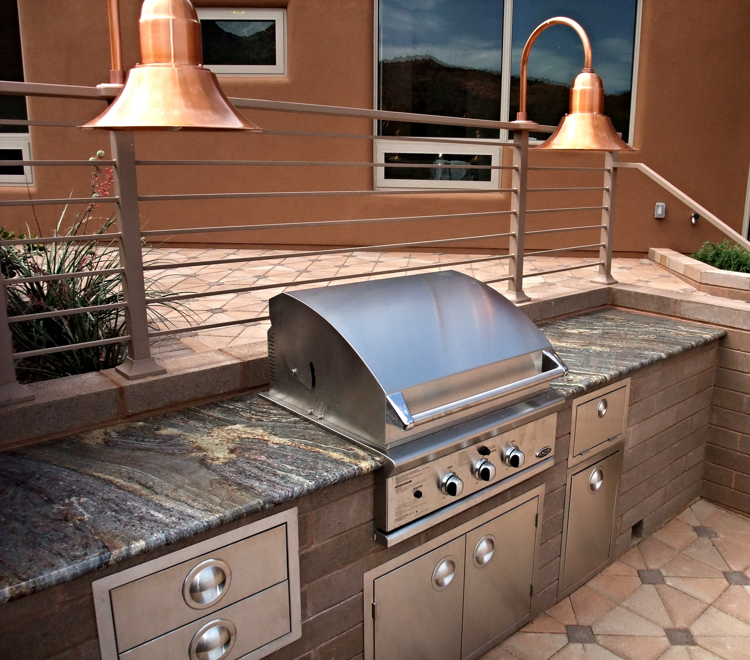 Granite Outdoor BBQ