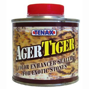 - Ager Color Enhanceravailable on AmazonWe recommend this product for chiseled edges and to darken honed and leathered/satin surfaces in granite and engineered quartz