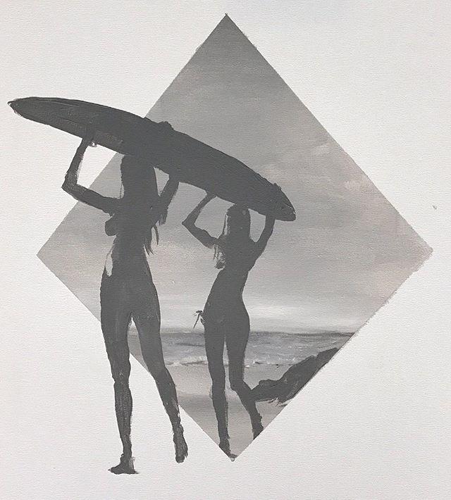 Inspired by one of my favorite photographers who photographs one of my favorite places #montauk @michaeldweckstudio . . . . . #surfsup #michaeldweck #artsy #longislandart #modernism #surf #surfer #surferchick #surfart #beachpainting #originalart #abstractrealism  #artcollective #art_spotlight #acryliconcanvas #artwork #contemporaryart #acrylicpainting #sandiegoartist #arrtpassion #ratedmodernart #theartshed  #contemporaryartist #pacificbeach #sandiego #sdart #retroart #contemporarypainter #modernartpainting