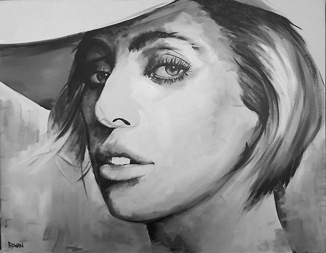 Just put your paws up cause you were born this way 💪🏻👑🙋🏻♀️👏🏻 • • • • • #art #bigart #popart  #portrait #originalart  #acryliconcanvas #acrylicpainting #sandiegoartist #arrtpassion #ratedmodernart #theartshed #imaginativeuniverse #artwork_portrait #artworkportrait #modernartpainting #womenartists #celebrityart #astarisborn #gaga #ladygaga #artpop #retroart #sandiegoartist #sdart #socalartist #yasqueen #bornthisway #pokerface #arte #ladygagaartpop