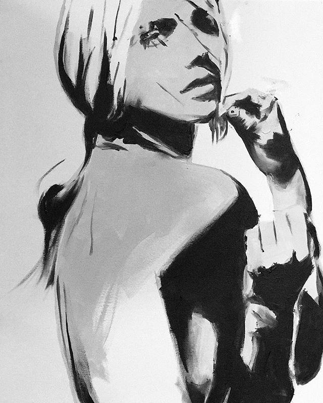 . . . . . #monochromatic #figurepainting #femaleform #bnw_lovers #femalefigure #partygirl #artistsdrop #art_empire #nudepainting #womenwhopaint #visualart #figurativeart  #artnerd #originalart #artcollective #art_spotlight #artwork #contemporaryart #acrylicpainting #sandiegoartist #arrtpassion #art #ratedmodernart #modernartpainting #imaginativeuniverse #art_realism_ #wallart #expectingmom #momsbelike #moms