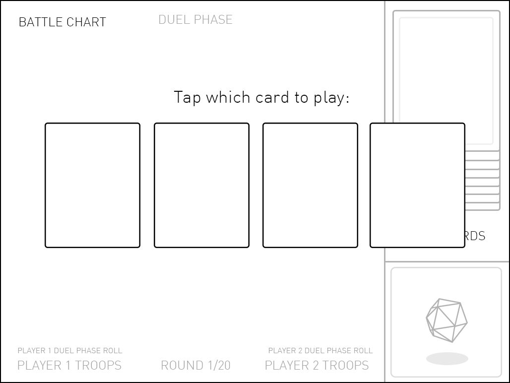 UI progression from wireframe to complete.
