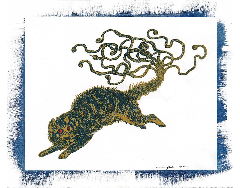 Fantasm Series: Cat of Nine Tails