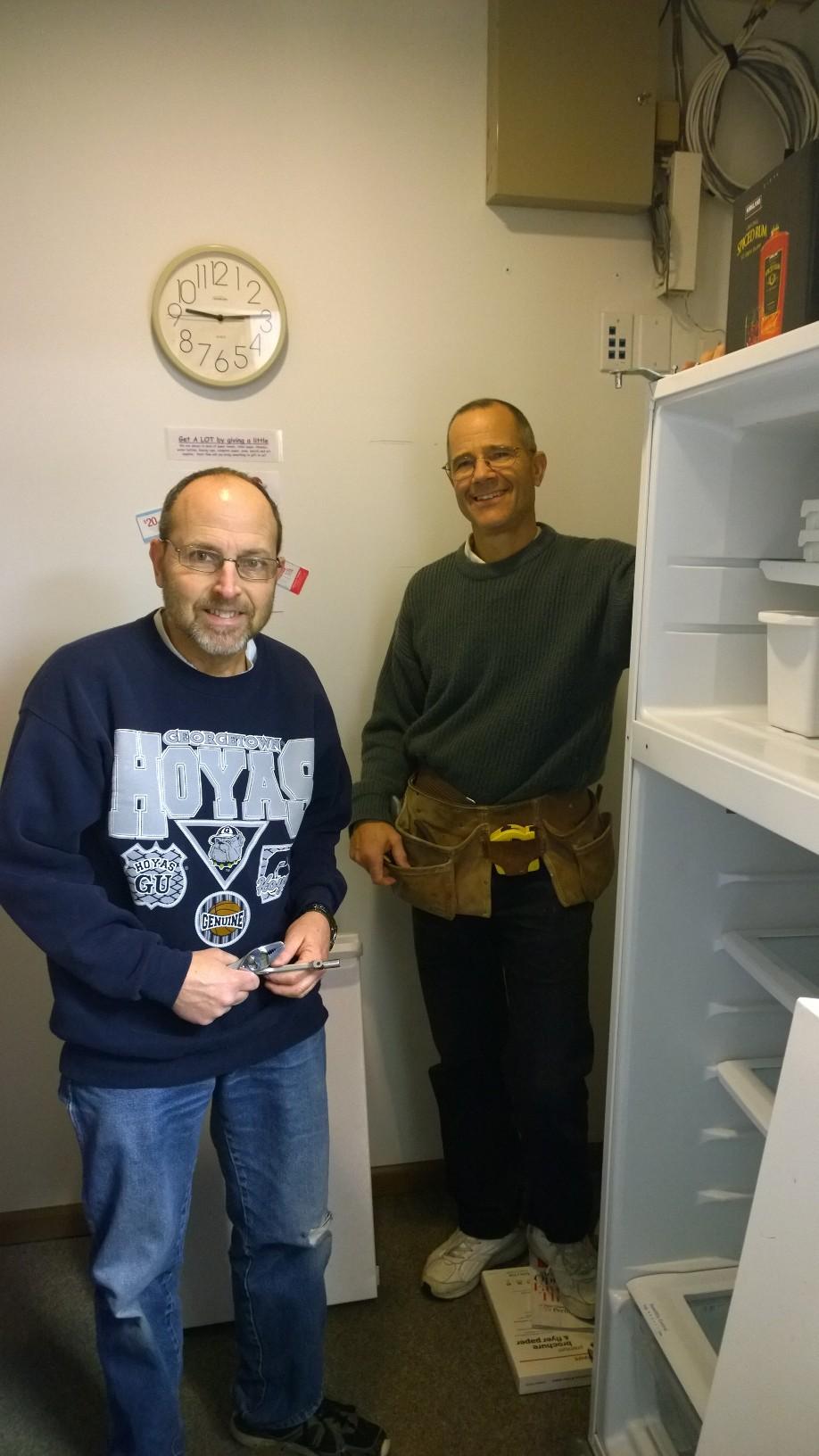 Steve and Tony. Handy men. Engineers.