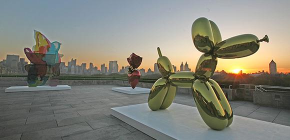 R ooftop du Met : vu de Manhattan de la terrase du Metropolitan Museum