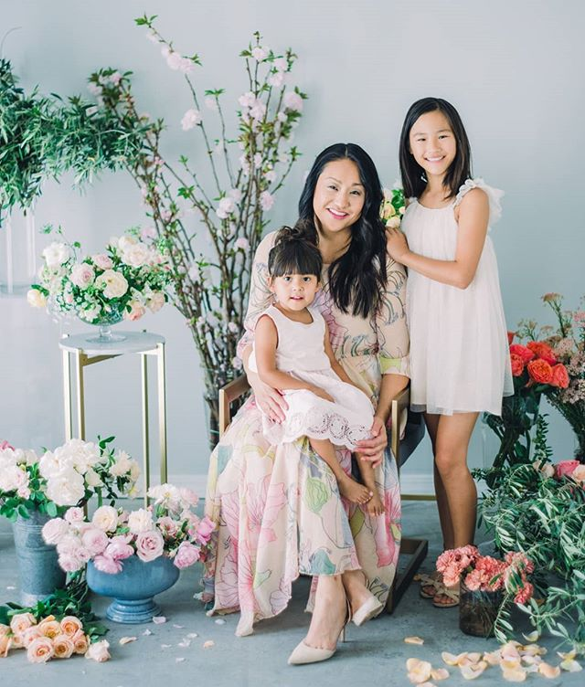 Happy Mother's Day! Thankful to @elysehallphotography and @marianamariestudio for encouraging me to get in front of the camera with my two beautiful girls. I don't do it enough. I will always treasure this sweet capture of us. ❤️