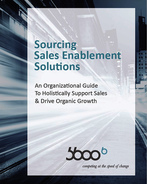 Sourcing Sales Enablement Solutions