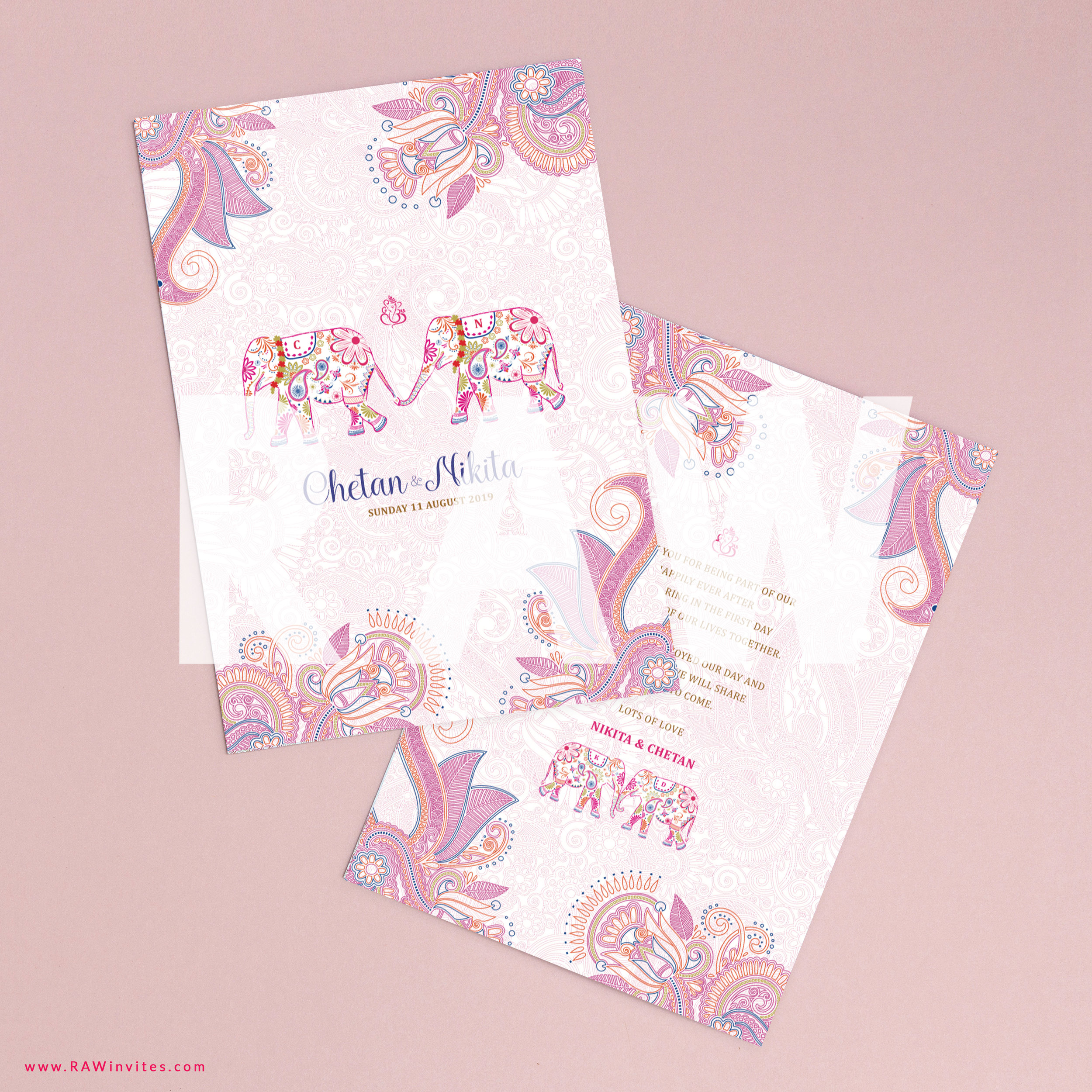 OOS - Rakhi-Rani Pink Booklet