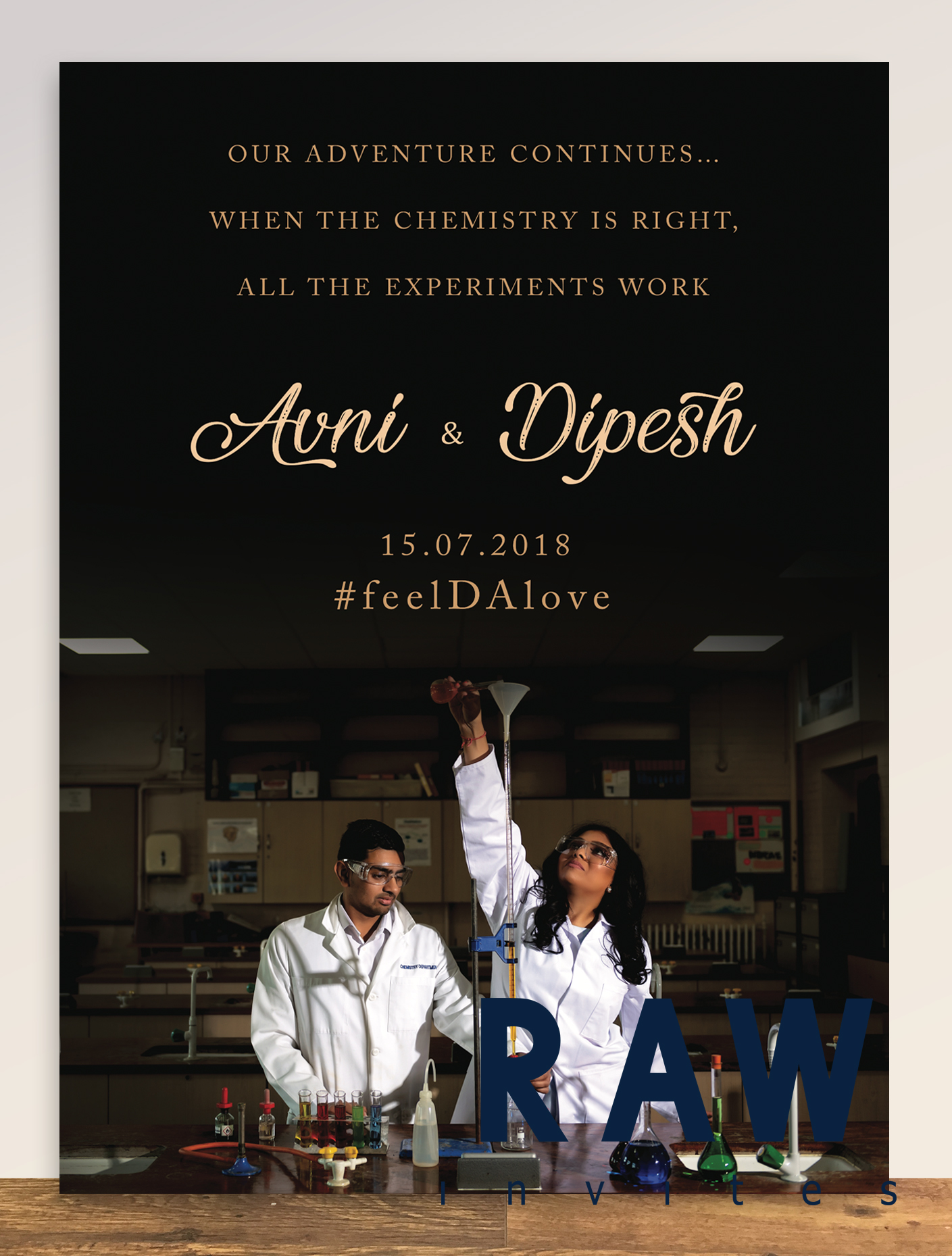 Avni & Dipesh (Went back to school, where it all started)