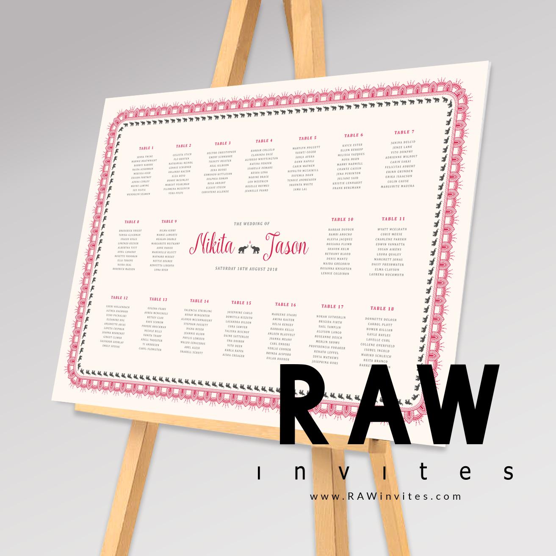 TablePlan - Renu(Pink)