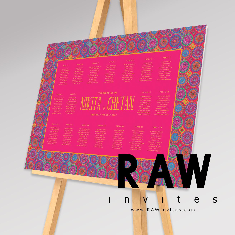 TablePlan - Urvi(Pink)