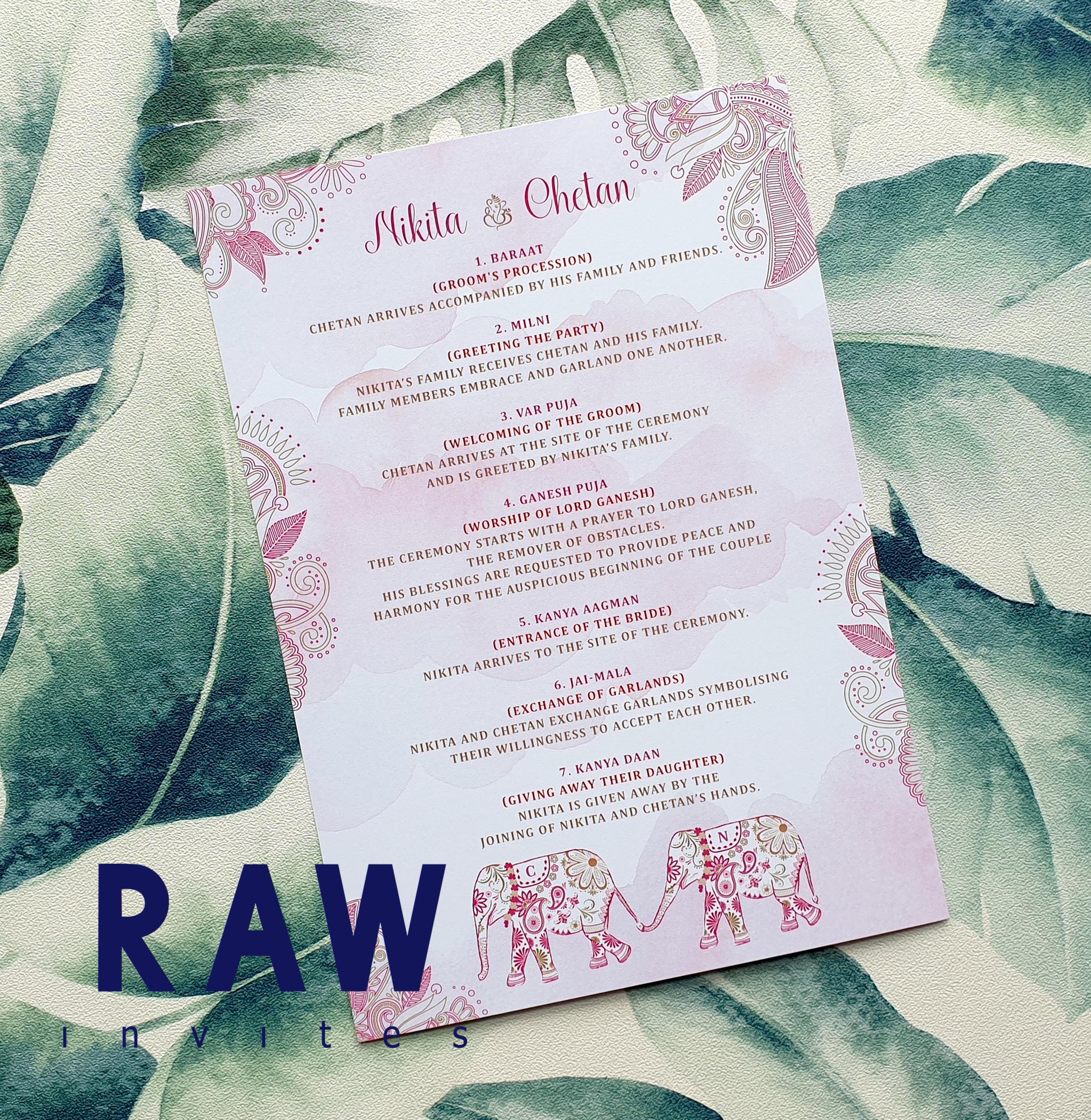 OOS Rakhi-Rani - Wash Pink