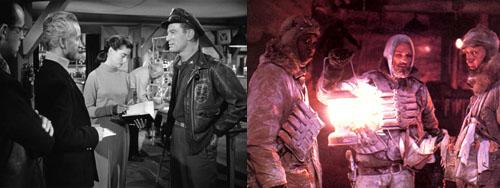 THE THING:1951 original vs. 1982 Carpenter remake
