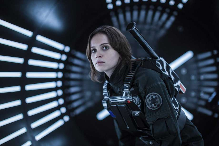 ROGUE ONE's Jyn Erso from the new STAR WARS school