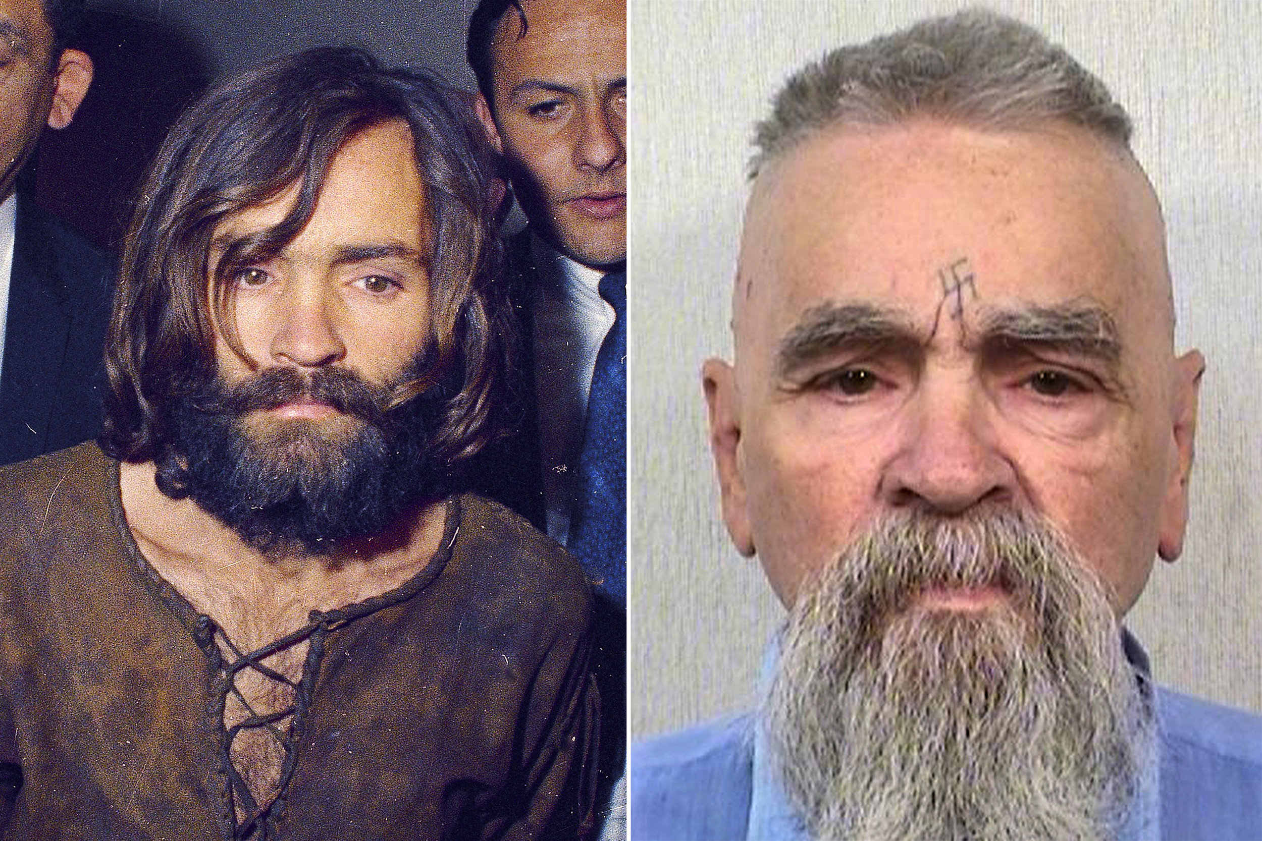 Charles Manson then (and more recent)