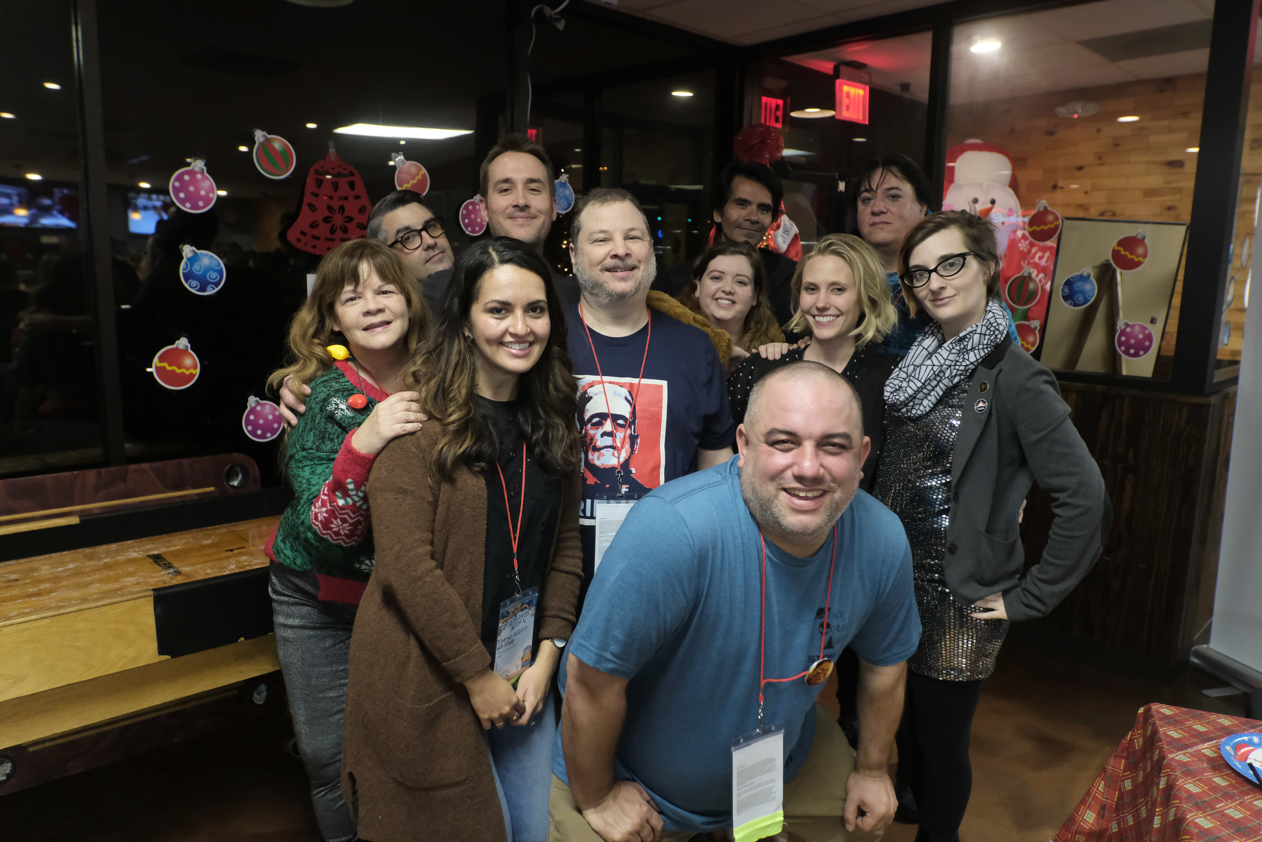 The OW Staff at the 2018 festival