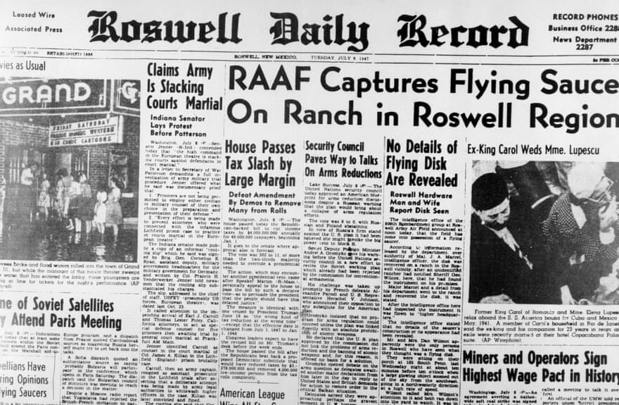 July 8th, 1947 front page