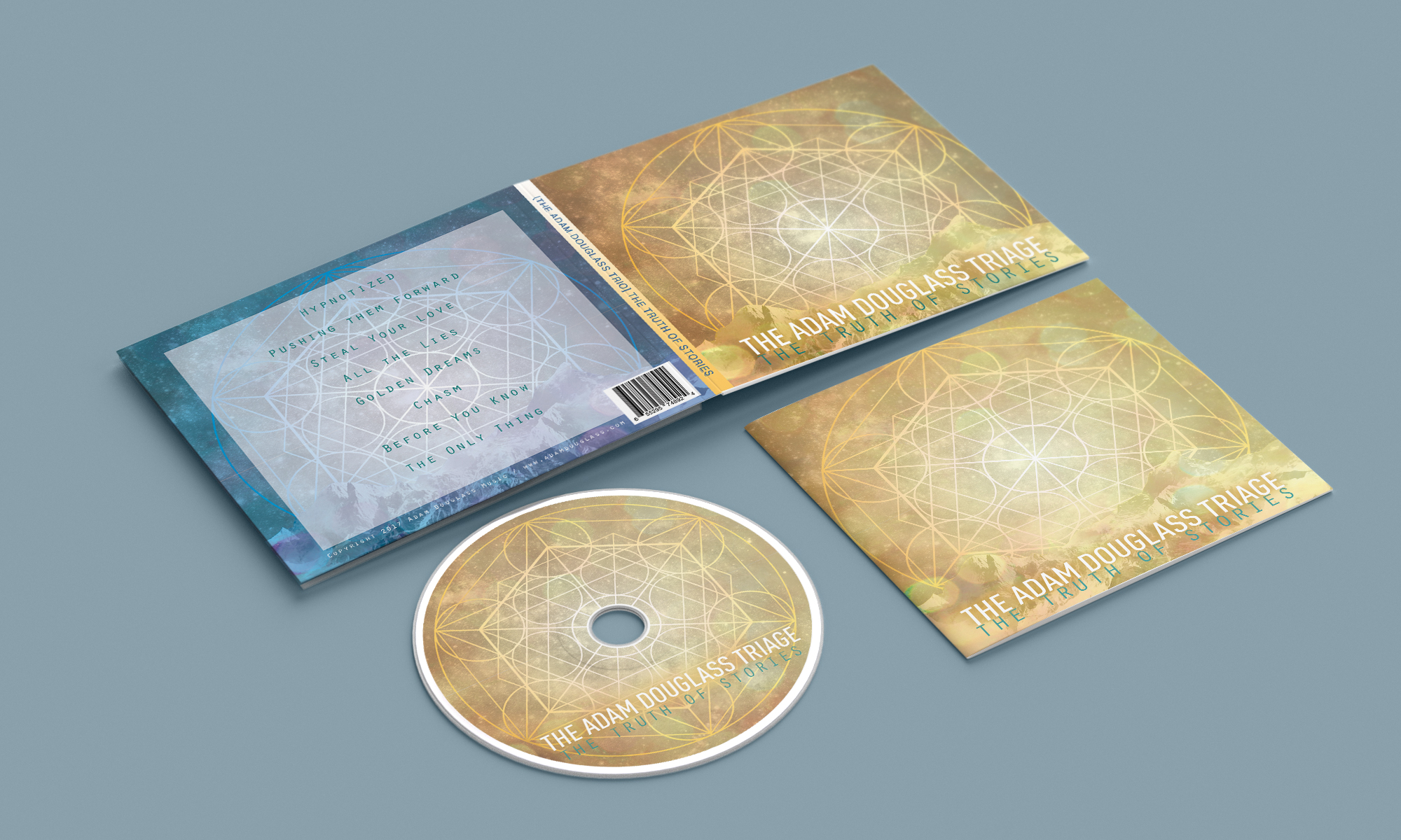 Concept Artwork and CD Packaging