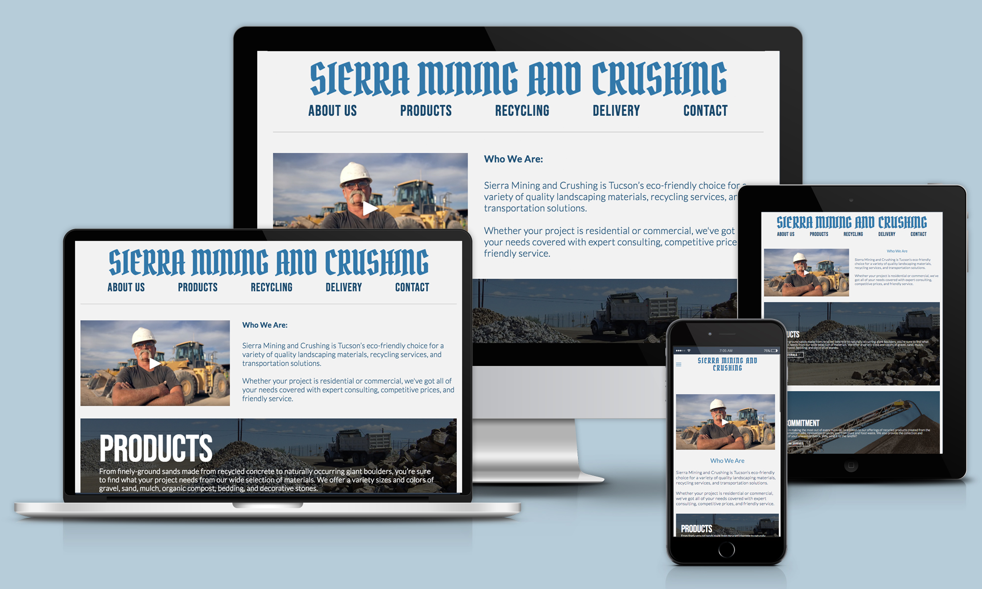 Sierra Mining and Crushing - Environmental Services