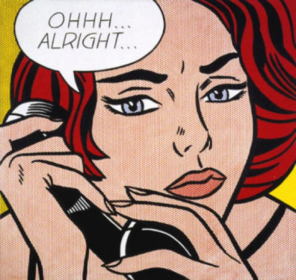 Roy Lichtenstein is pretty famous too.