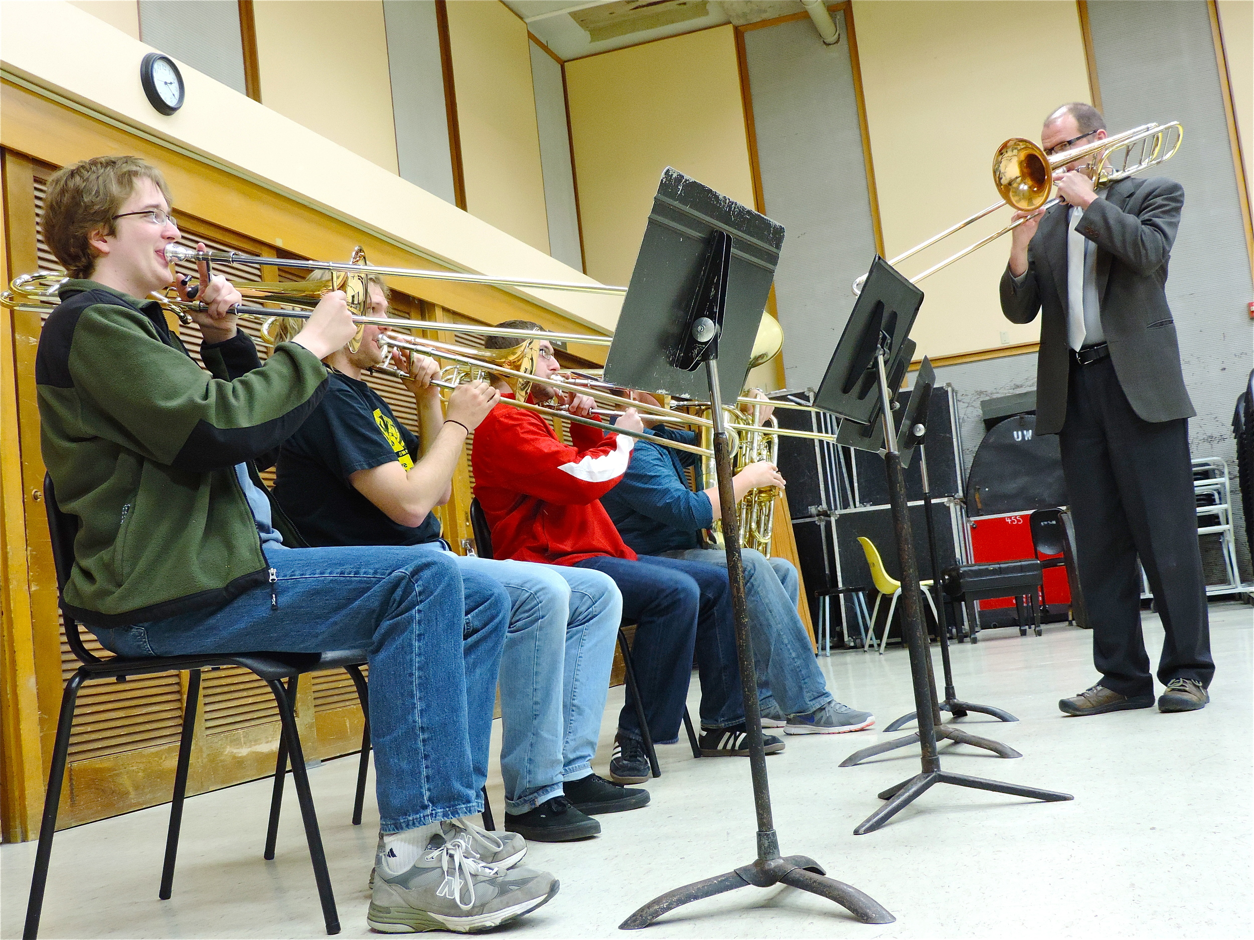 Weekly Trombone Studio Class