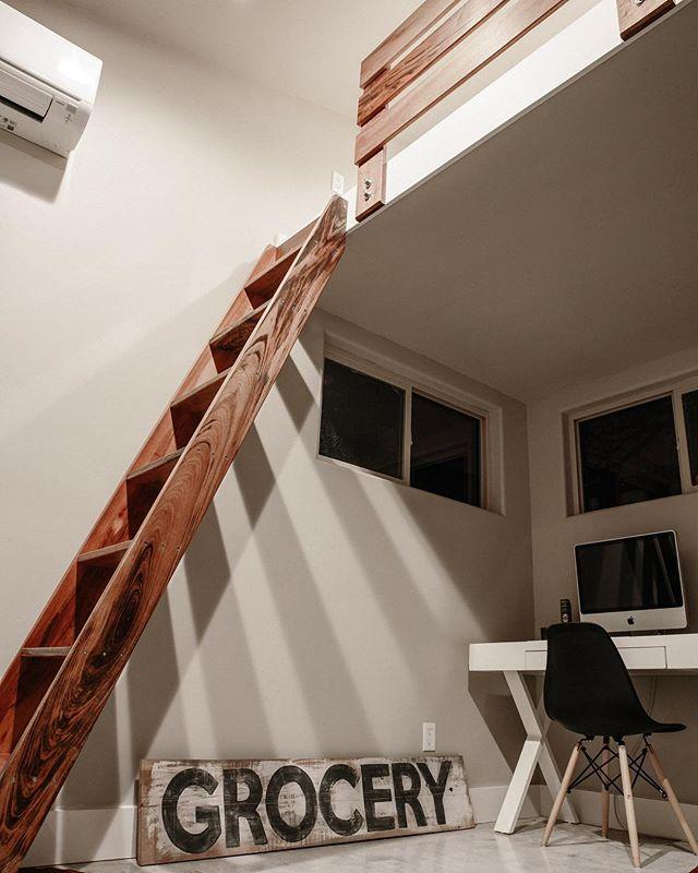 Loft bonus on this 10x12 Modern Space