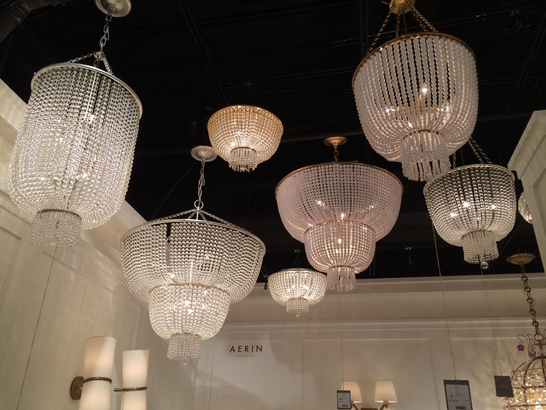 Some of Aerin's beautiful lighting for  Visual Comfort .