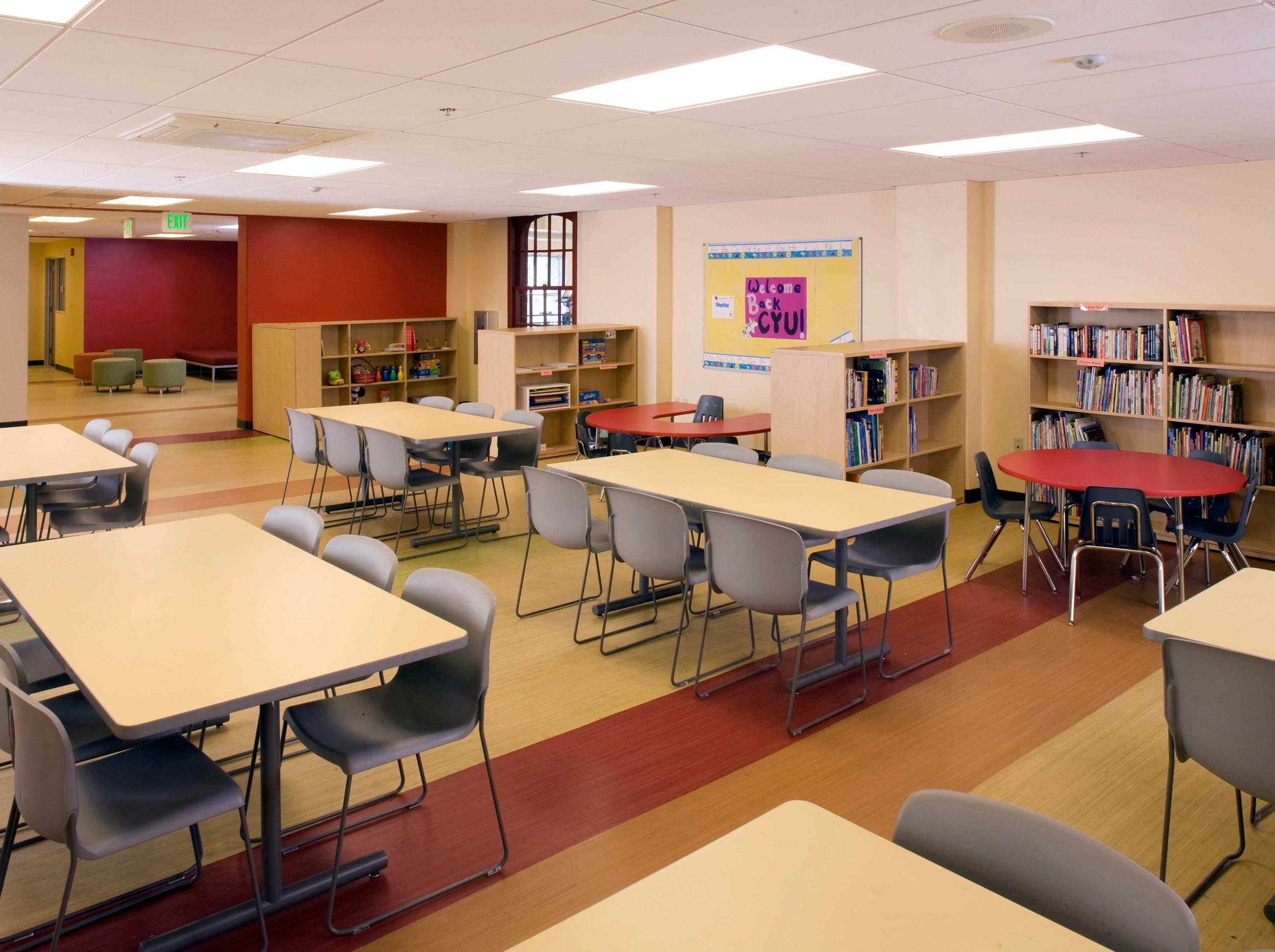 Afterschool Program Classroom