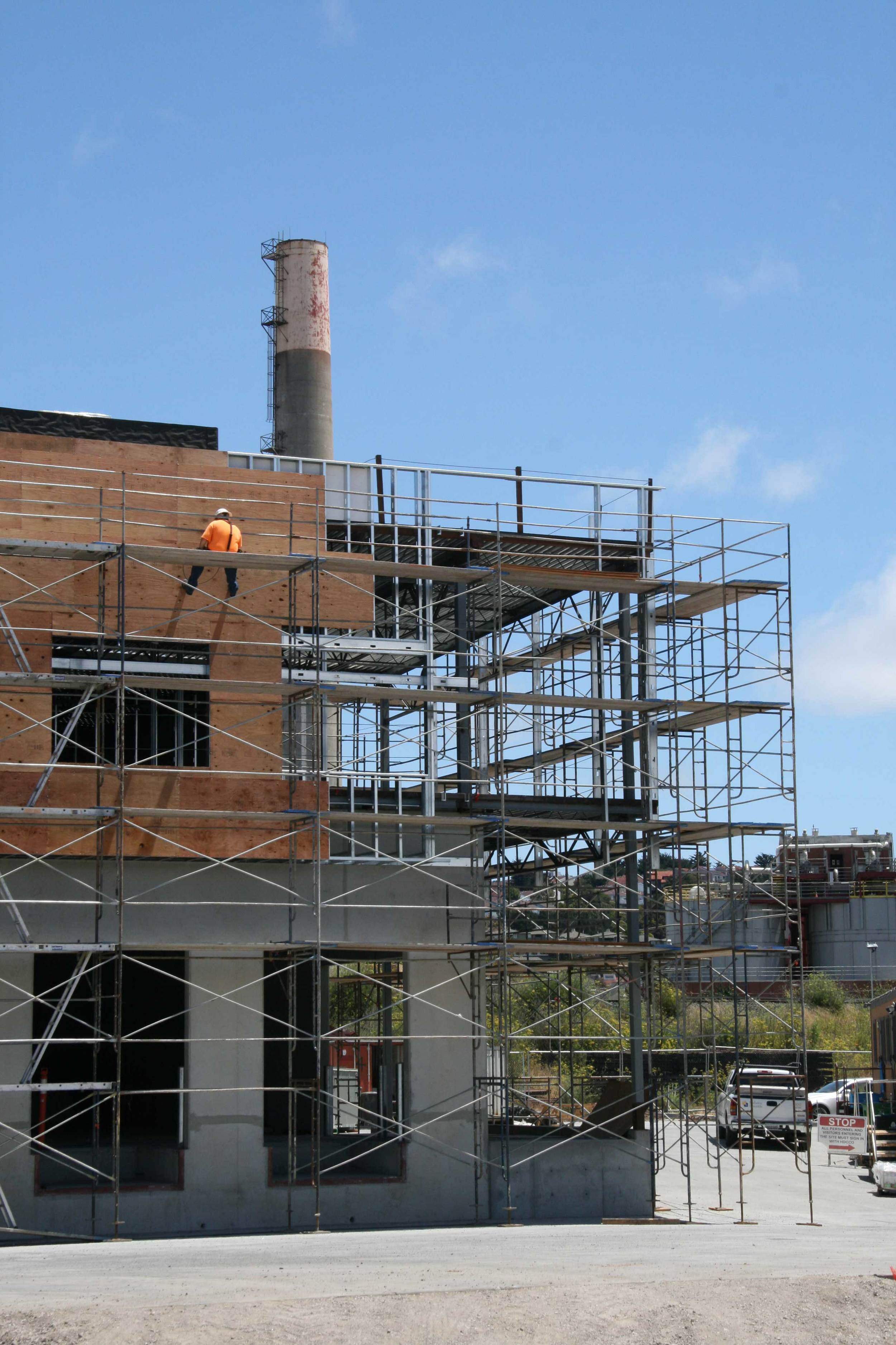 Preparing for metal siding