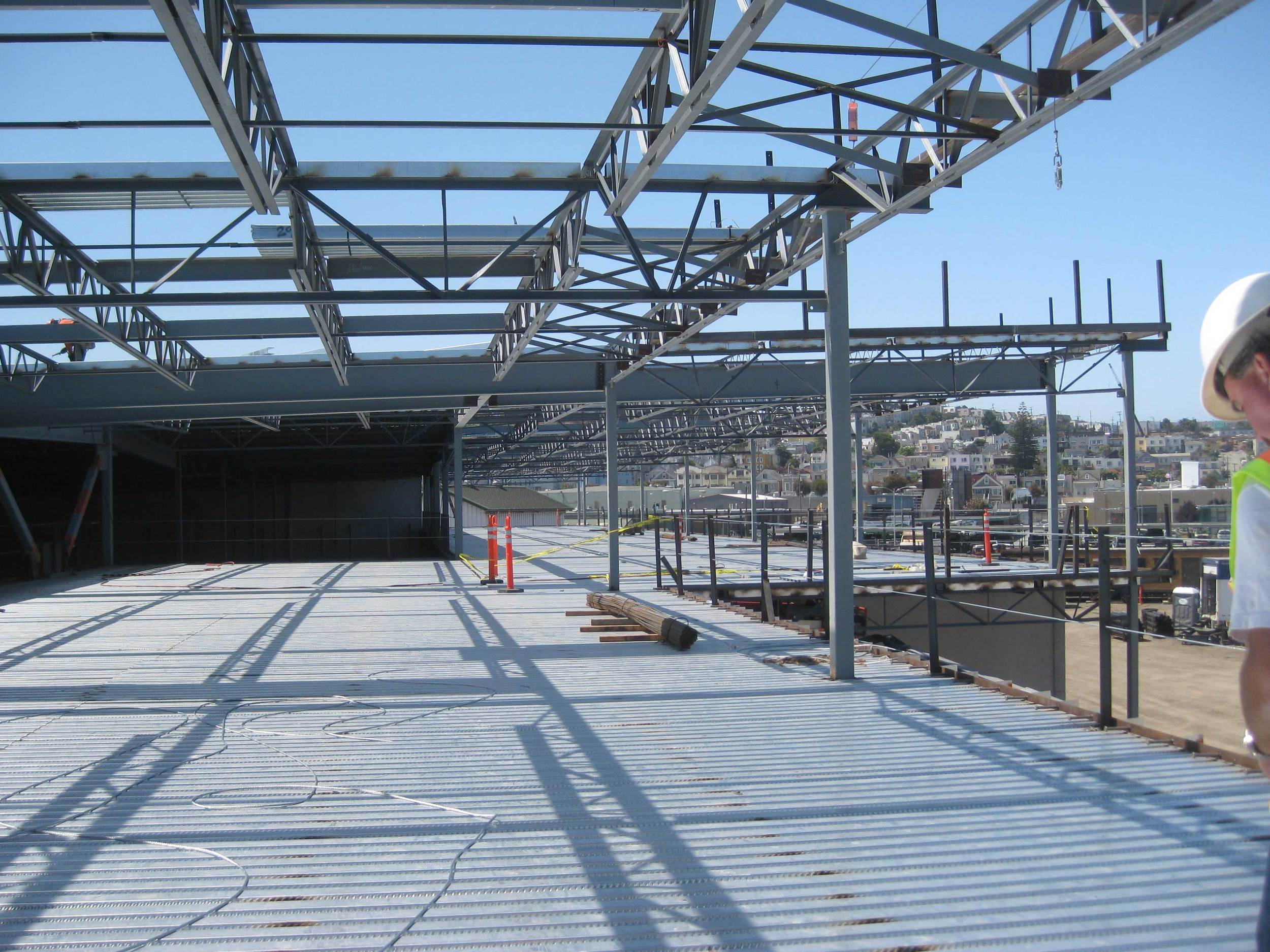 Office level structural framing