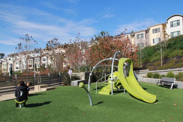 new children's playground at Summit 800 Park