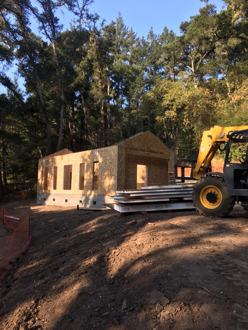 CJG cabin SIP panels erected - partial.JPG