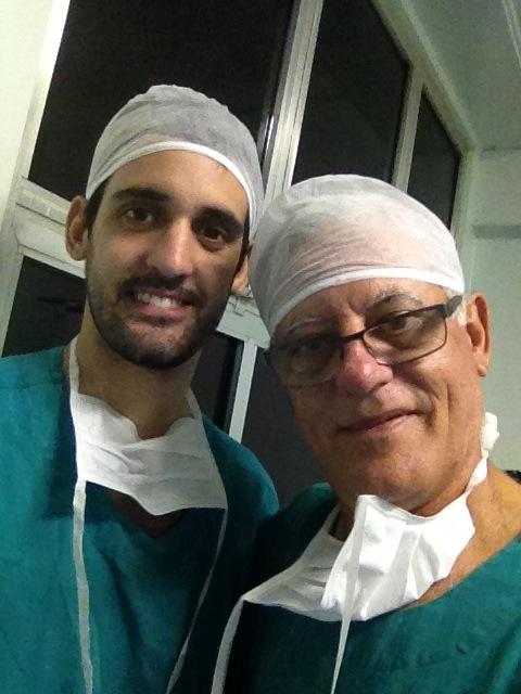 Foto: Dr Paulo Camara e Dr Eduardo Camara