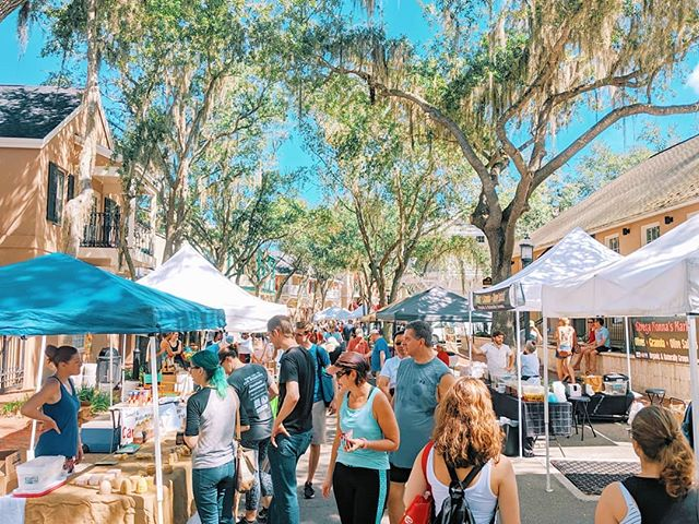 Beautiful day for a beautiful farmers market! 🥰 See you next week everyone 👋