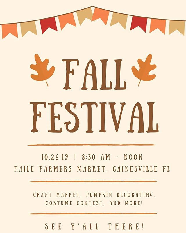 Have you heard? We are having a fall festival! Event link in bio 🥧🍎🎃